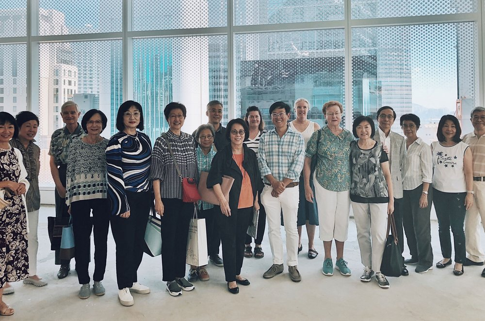 Guided Visit: A look at H Queen's architecture and some galleries with William Lim