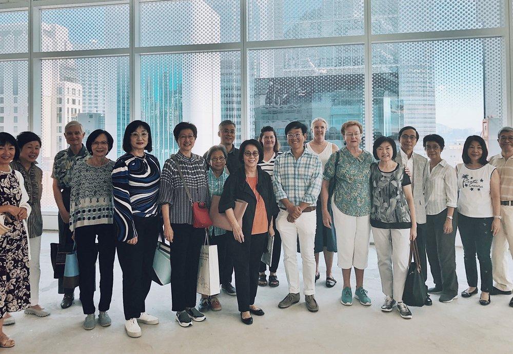 活動報導|林偉而先生受邀带领香港大學博物館學會的藝術參訪活動