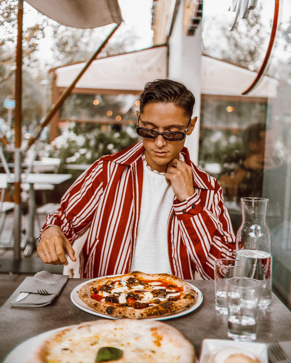 ◎ My favourite aubergine pizza from Giro Stockholm