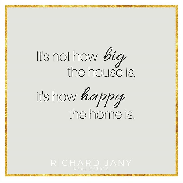 Happiness is the foundation a good home is built on. ⠀ ⠀ #ThankfulThursday #ExpatLife⠀