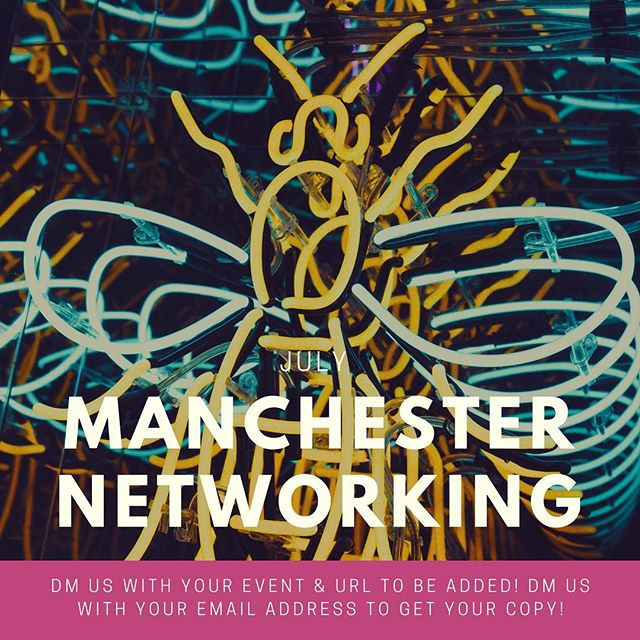 Shout out to anybody running a business networking event over July in the Greater Manchester location. . 🔹We would like to include your event in our blog! 🔹Please DM the name of your event and the URL 🔹Submissions needed by end of play Friday 22nd June! 🔹Regrams welcome.  Thanks 🙏🏻 LEX . #manchester #smes #networking #events #businessgrowth #connectedness #socialmedianetworking #connectedworld #northern #northernpowerhouse #business #gmcc #4n #introductions #bni #businessintroductions #referrals #spreadingtheword #businesscommunity