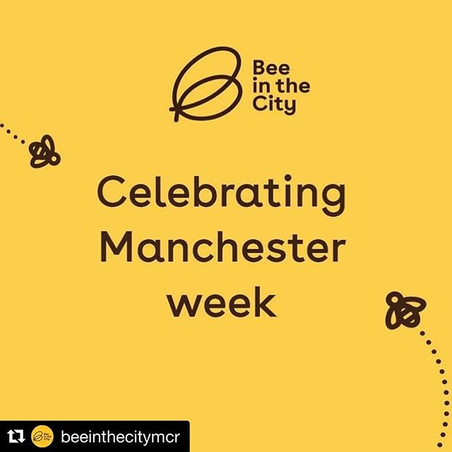 We have been enjoying discovering all of the amazing bee sculptures throughout the city! Proud to be in such a vibrant community. Regram from the fab @beeinthecitymcr ! 🐝 🐝 🐝 🐝 #beeinthecity #manchesterbee #manchester #workerbee #publicart #sculpturetrail