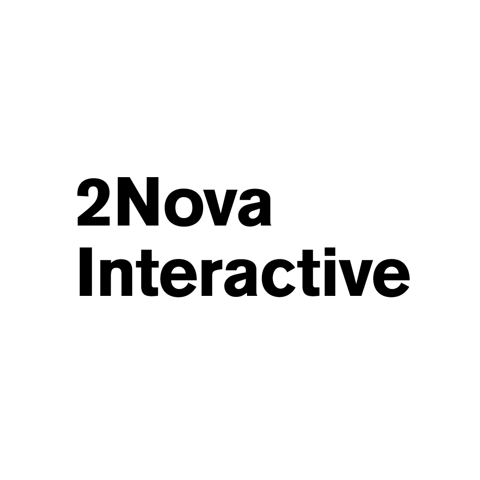 2Nova Interactive provides digital marketing and product development services. We believe in synergy and combine best practices from both fields in our work. We strive to be leaders in what we do.   Website:  2nova.ru
