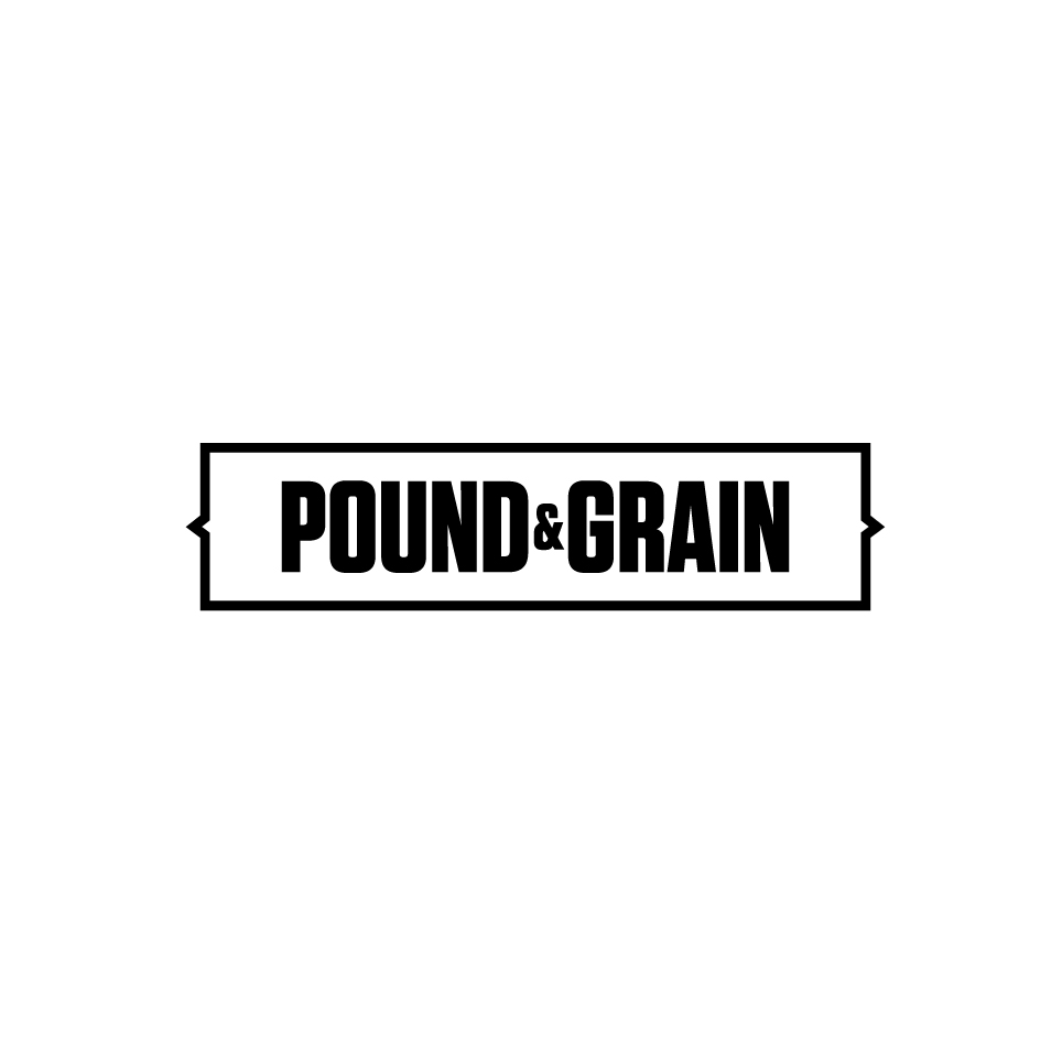 "Pound & Grain is a creative agency built for our digital culture. A true ""digital first"" studio, Pound & Grain is providing brands throughout North America with a no-nonsense approach to technologically driven experiences, brand building, products, apps, websites, content, and campaigns.   Website:  www.poundandgrain.com"