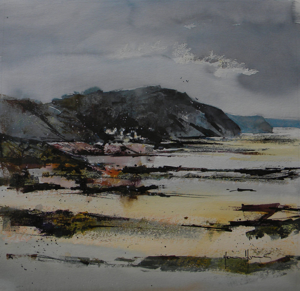 """Amroth From Wisemans Bridge"" - Sold"