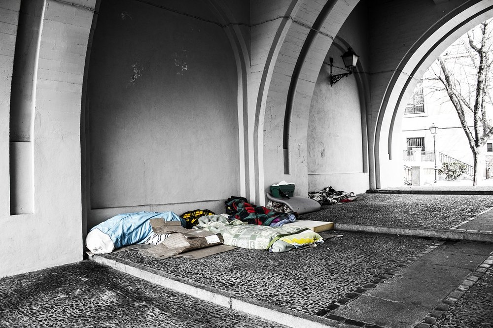 Rising homelessness is linked to evictions.
