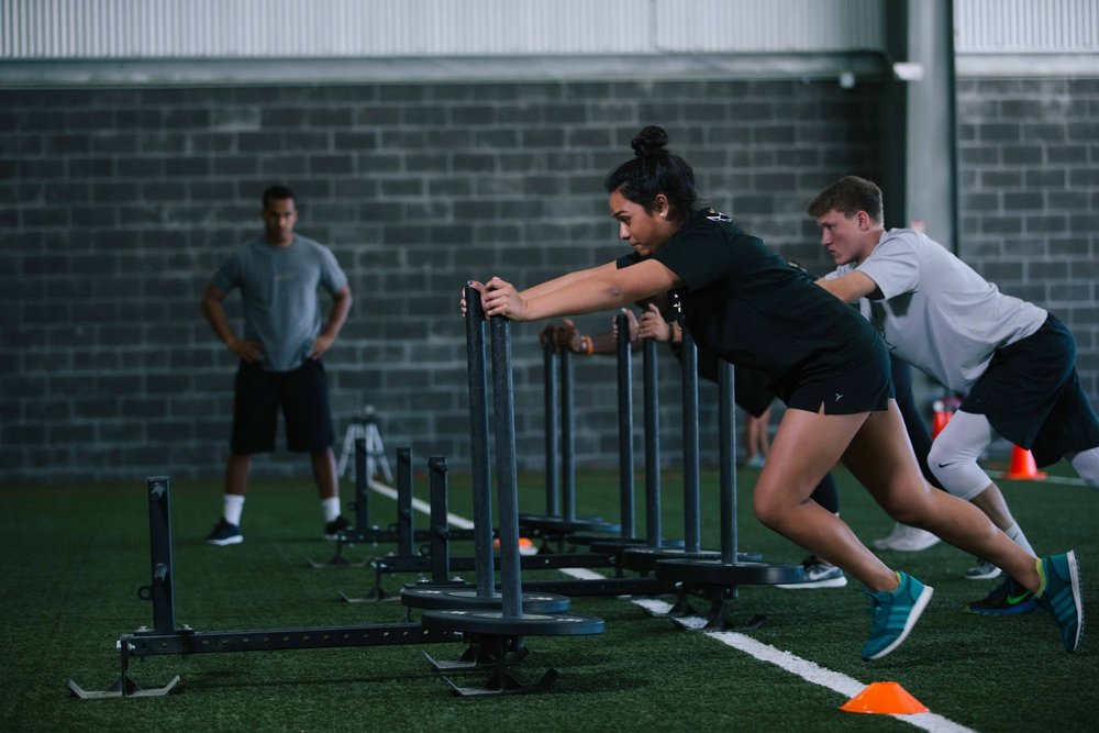 Discover your athletic potential  - Check out our services to see how we can help you achieve your health and fitness goals.