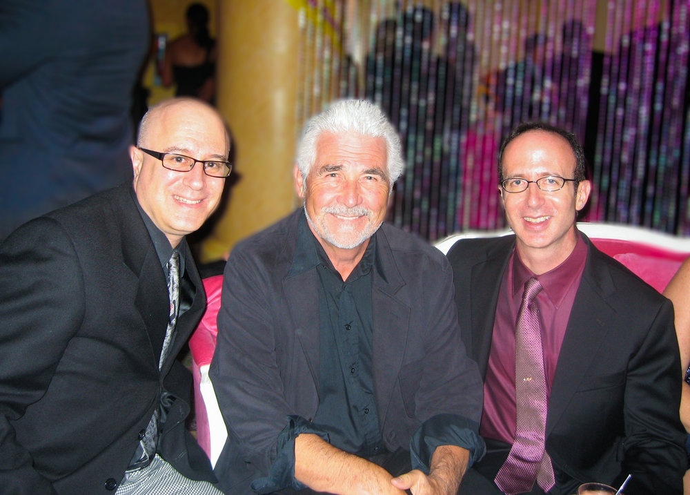Ed & Marc with Executive Producer, James Brolin