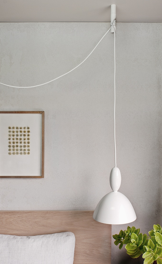 it's minimal and sculptural and discrete -