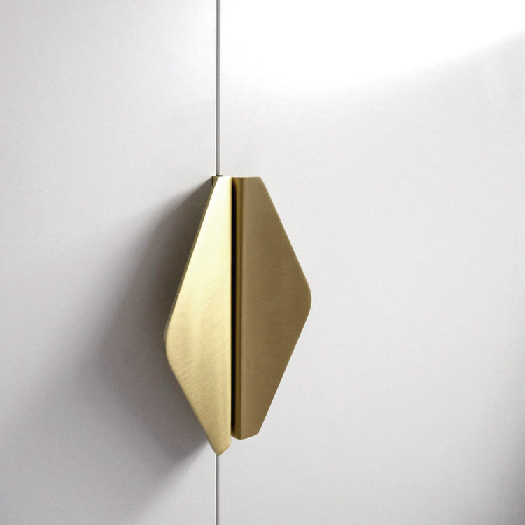 Envelope Cabinet Handles from Auhaus