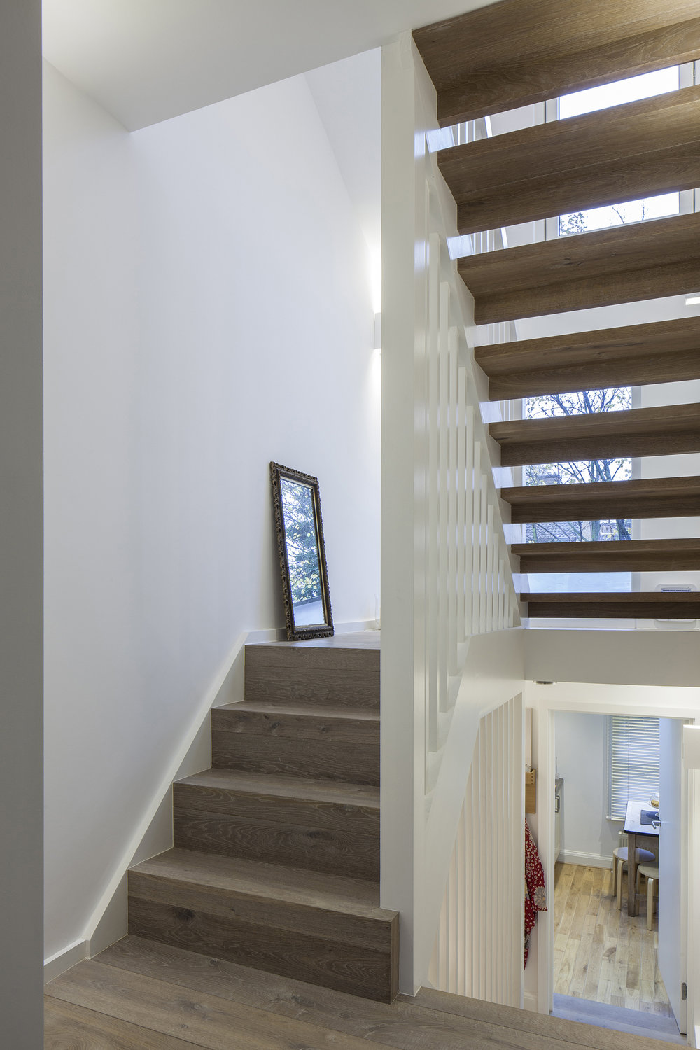 Bespoke Stairwell at Reighton Road