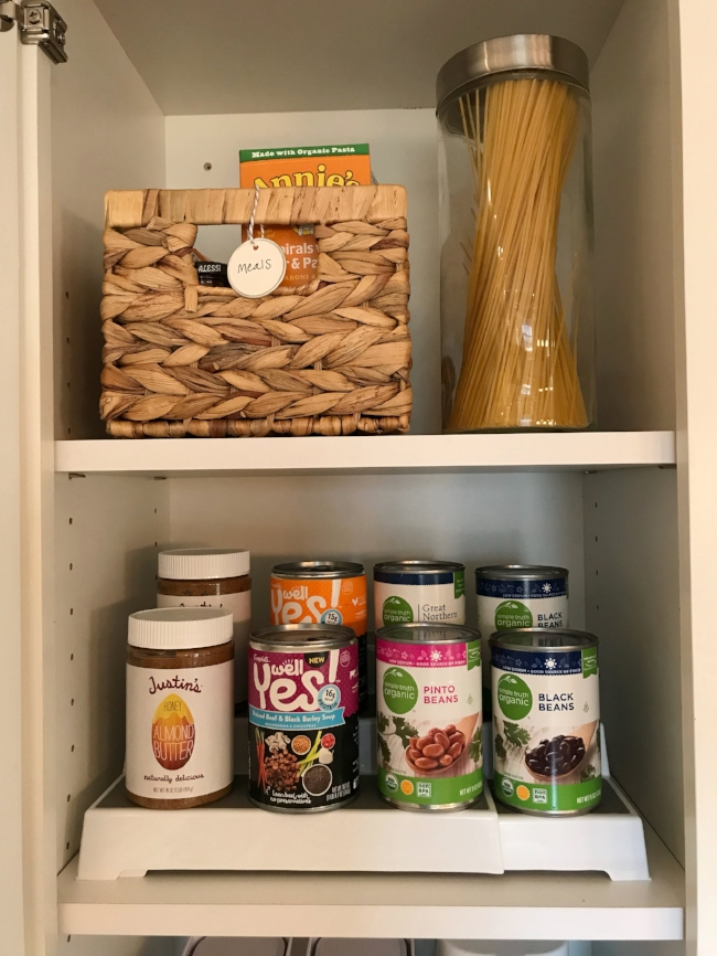 The joyful sort - professional organizer - columbus, OH - organized pantry