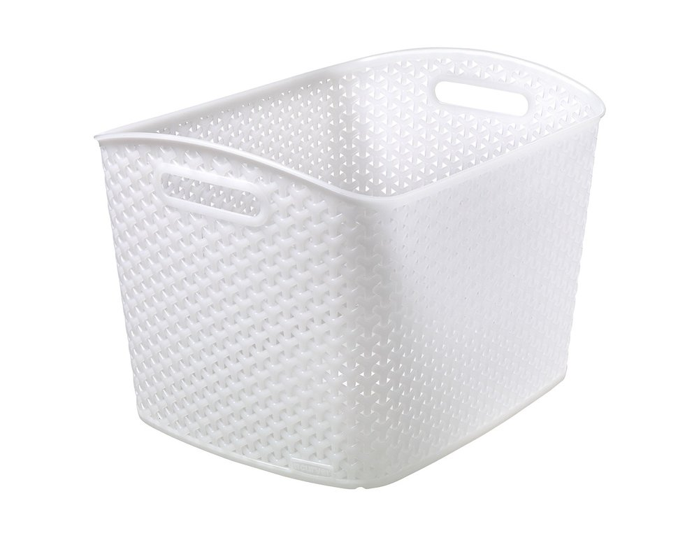 Target Room Essentials Y-Weave Large Curved Rectangle Basket