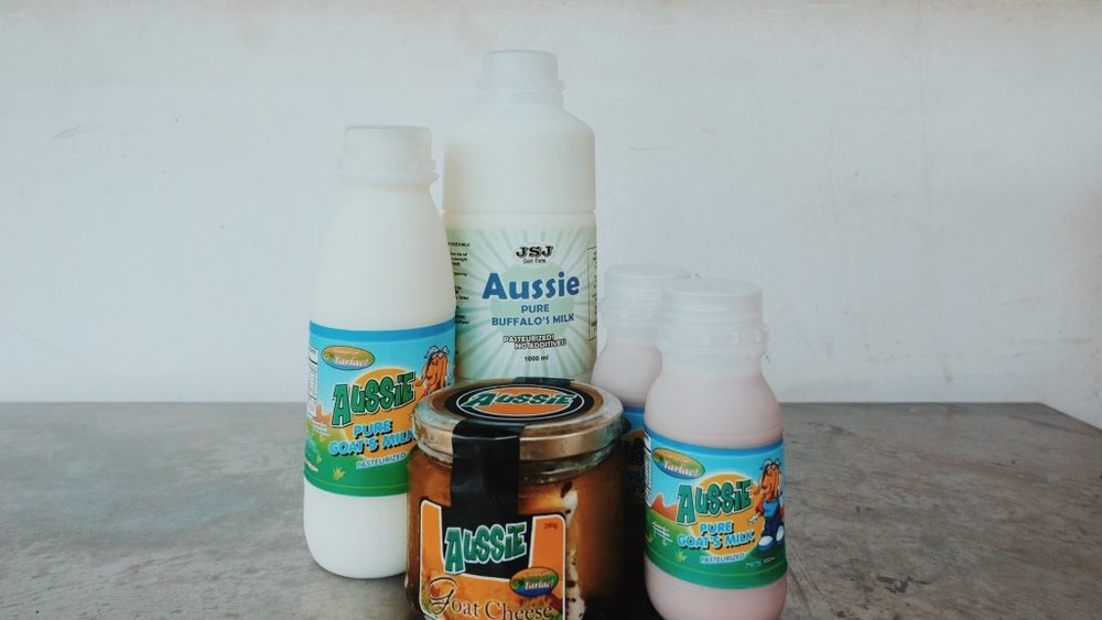 JSJ GOAT FARM products - As one of the pioneers in modern goat raising, they sell their goats for meat production, and merchandise goat milk and speciality cheeses.