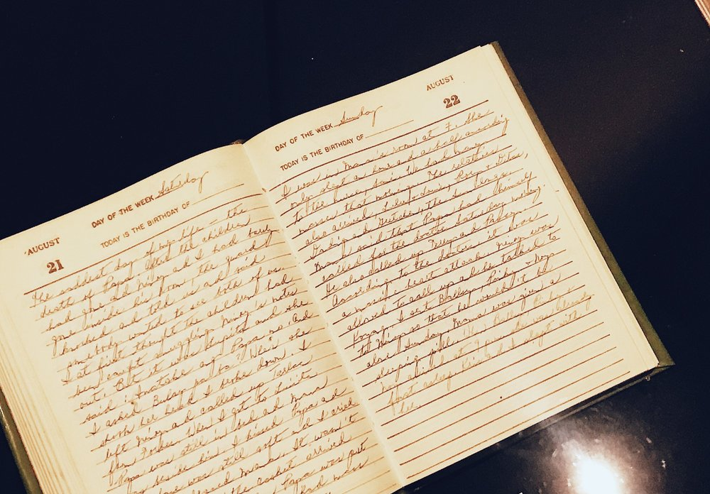 Excerpts from Cory Aquino's Diary.
