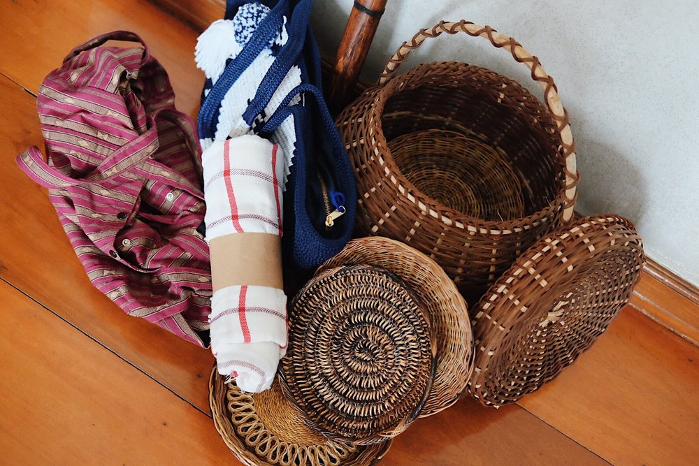 Woven Love - Some of the things we got during our travels to Aurora, Sagada, La Union and around the Metro.