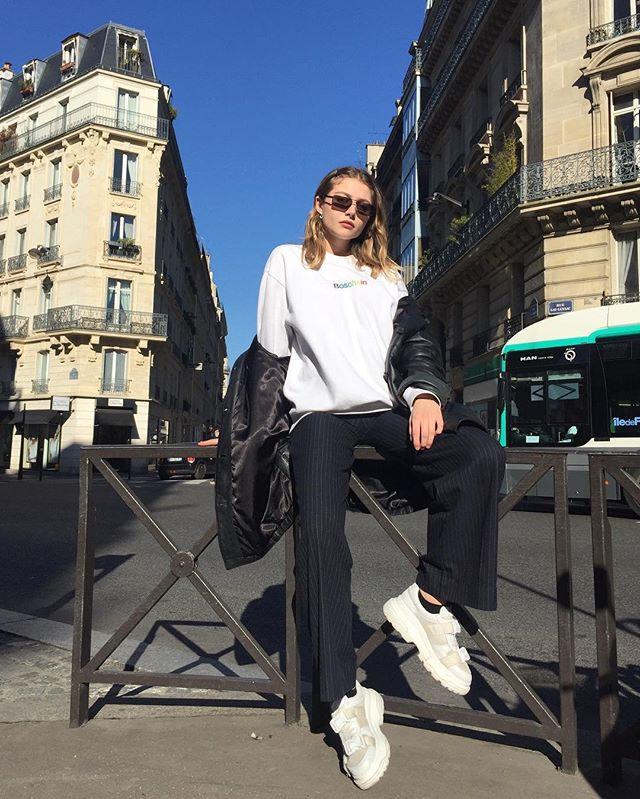 When in Paris @paulinebeq #teamboschain