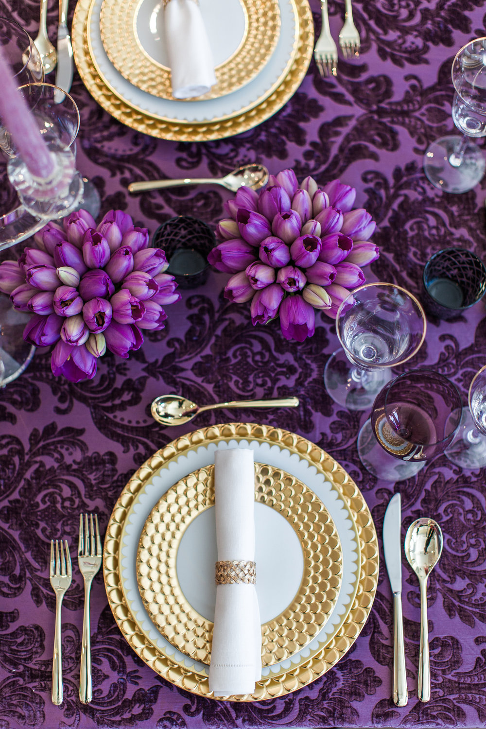 Ultra Violet Dinner Party