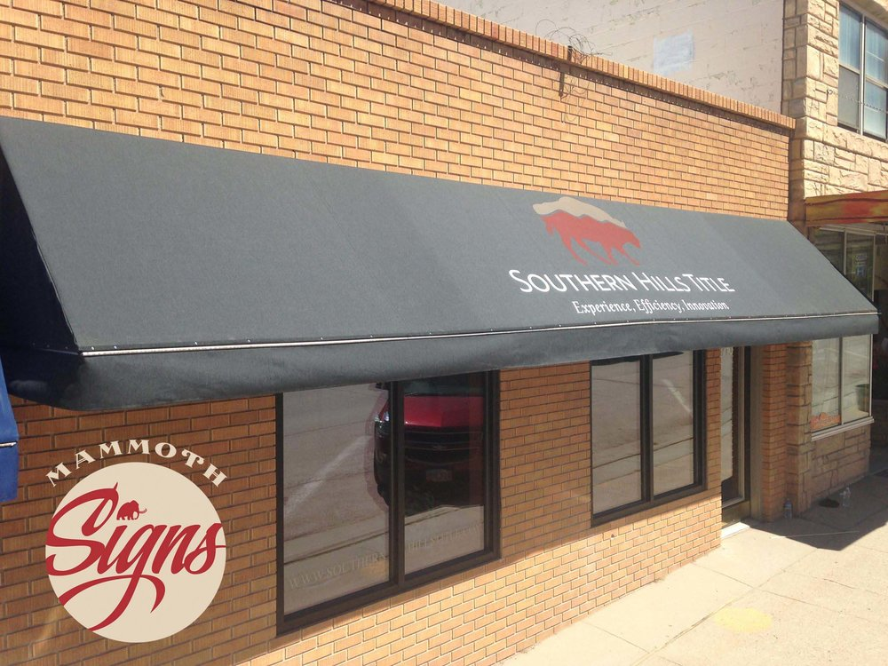 Looking for Commercial Awnings in Rapid City or in the Black Hills?