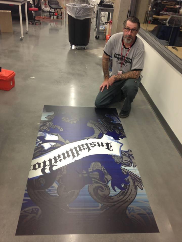 Anti-Slip Floor Graphics-worry free ADVERTISING for your FLOORS.