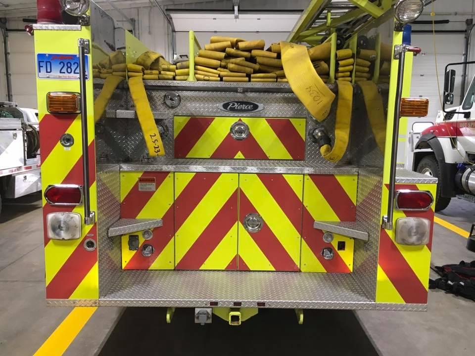 FIRE TRUCK-Fleet Saftey Graphics