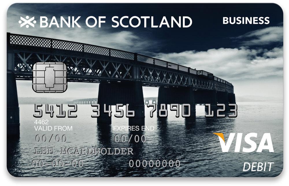 BANK OF SCOTLAND CARDS — Julian Calverley Photographer