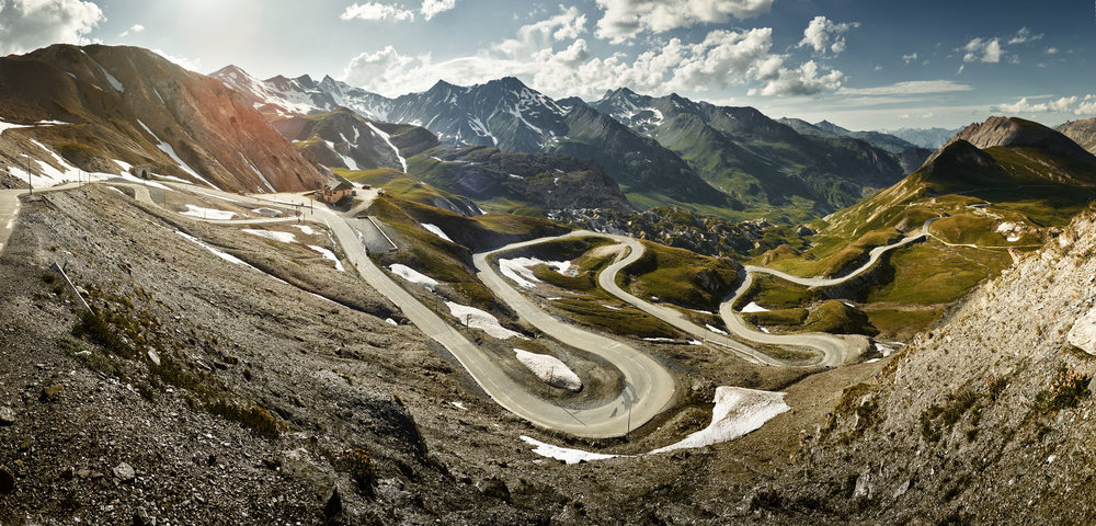 The Col du Galibier.