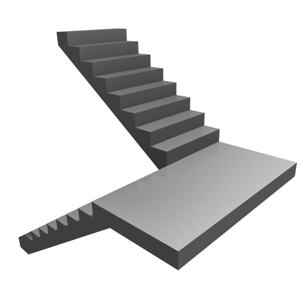 U Shaped Staircase