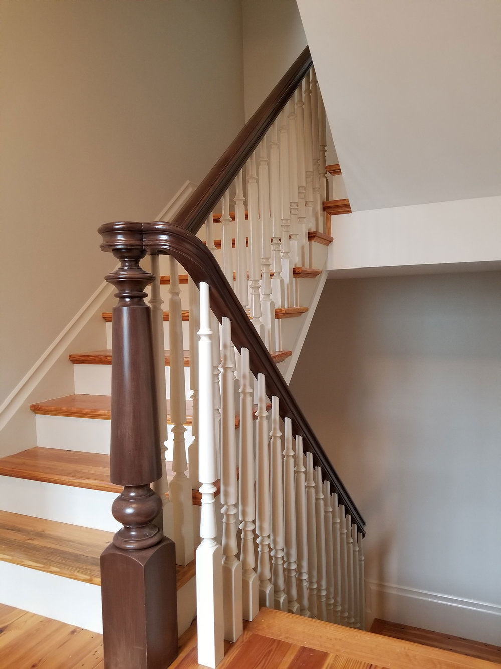 Oak Pointe_Wood Turned Newel.jpg