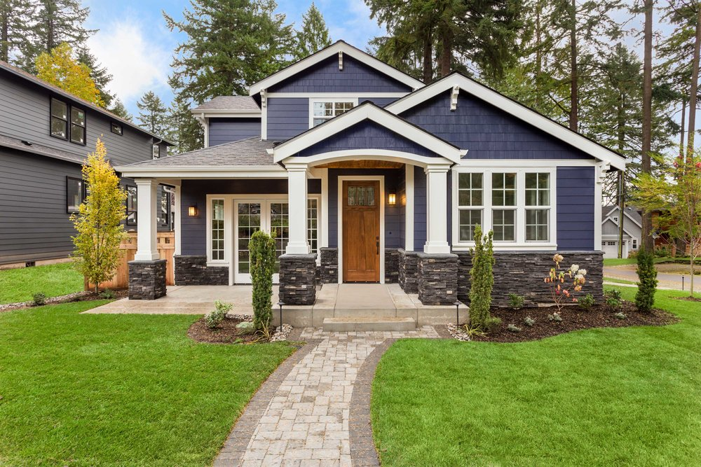 Architectural Style Craftsman-Mission