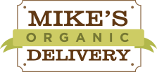 - Mike's Organic Delivery is a home delivery service that brings the freshest seasonal produce, meat and fish, and delicious staples from the farm directly to your door! Mike's Organic Delivery Market is located just up the street from The Imagine Lab, so you also have the option to shop in person (Tuesdays-Fridays, 9:00-4:00pm).