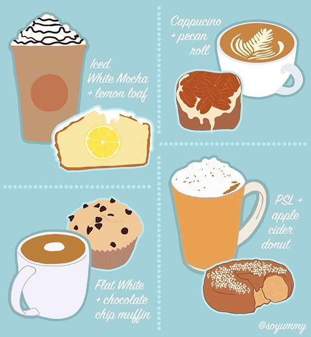 In honor of #CoffeeDay, our @soyummy producers came up with the coziest caffeine combinations! ☕️ What's your favorite?