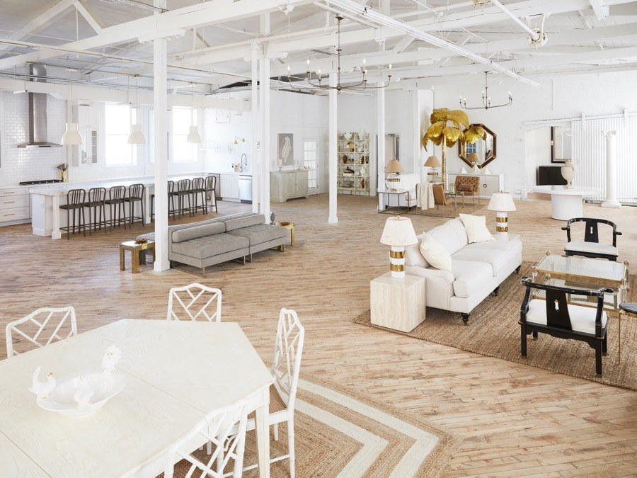 The salon space at Maximalist Studios. Photo by Trevor Dixon