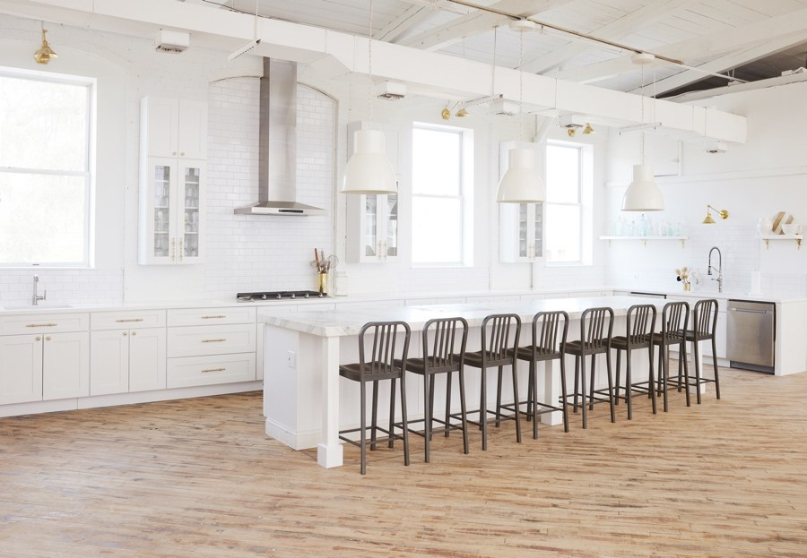 The chef's kitchen at Maximalist Studios. Photo by Trevor Dixon