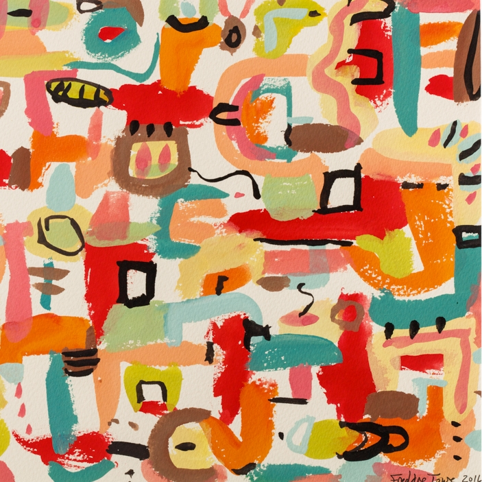 Recent Guache Paintings - See Paintings >