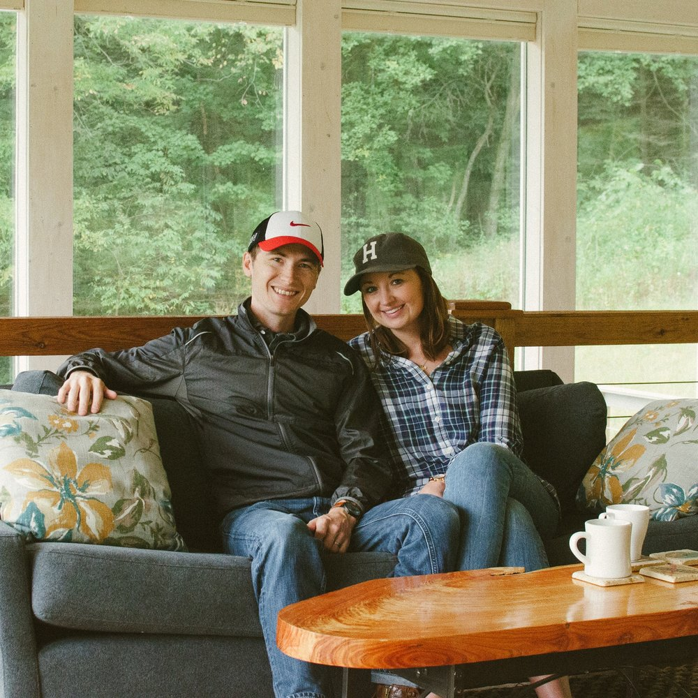 """Josh and Stasia Haroldson, Podcast Hosts """"Our First Drink"""", Episode 9"""