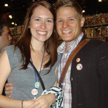 Lindsay and Michael Lapinski, TV Director of Production and Art Director, Episode 10