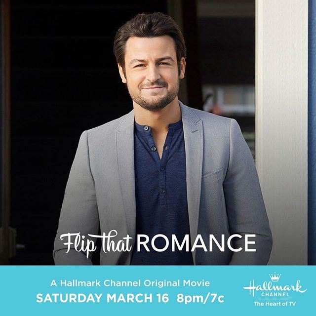 Happy #HallmarkHottie Friday! 😍We know @tyler_hynes can rock the sweater game, but let's see if he can rock some workman's flannel, right, #Hallmarkies?! ☺️ One more sleep until #SpringFever kickoff! 🌸💐🌼 #thebubblysesh #podcast #podcasting #hallmarkmovies #hunk #handsome #sweet #talented #actor #madefortv #hallmarkchannel #happyfriday  #Repost @hallmarkchannel ・・・ Lance @tyler_hynes is thrown back into an old romance when he discovers he's renovating the property next door to his ex. Can redoing this property help repair their relationship? 🛠 #FlipThatRomance premieres this Saturday at 8pm/7c. #SpringFever