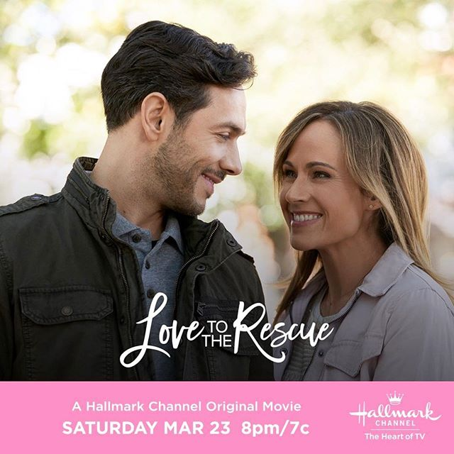 Been waiting for this movie all week, #Hallmarkies! Can't wait to see one of our fave leading ladies @nikdeloach! Woo hoo! ❤️🐶💐#thebubblysesh #podcast #podcasting #podcasts  #hallmarkchannel #hallmarkies #hallmarkmovies #adoptdontshop #rescuedogsrock #saturdaynight  #Repost @hallmarkchannel ・・・ Will Kate @nikdeloach and @michaeljrady foster more than just a rescue dog together? See what develops between these single parents in #LovetotheRescue Saturday at 8pm/7c! #SpringFever