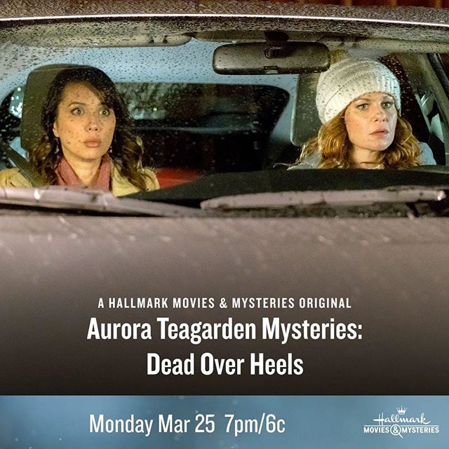 #Sleuther alert! #AuroraTeagarden marathon tonight!  This movie is a goody. 🔍 #thebubblysesh #podcast #podcasting #hallmarkmovies #hallmarkmoviesandmysteries #candacecameronbure  #Repost @hallmarkmovie ・・・ Can't get enough Roe @candacecbure, #Sleuthers? See her in #AuroraTeagarden Mysteries: Dead Over Heels tonight at 7pm/6c, part of an #AuroraTeagarden Marathon!