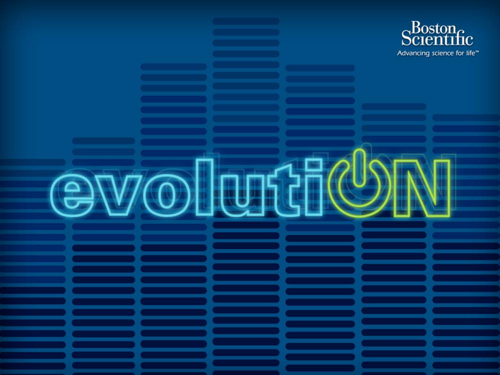 evolutiON Logo Design
