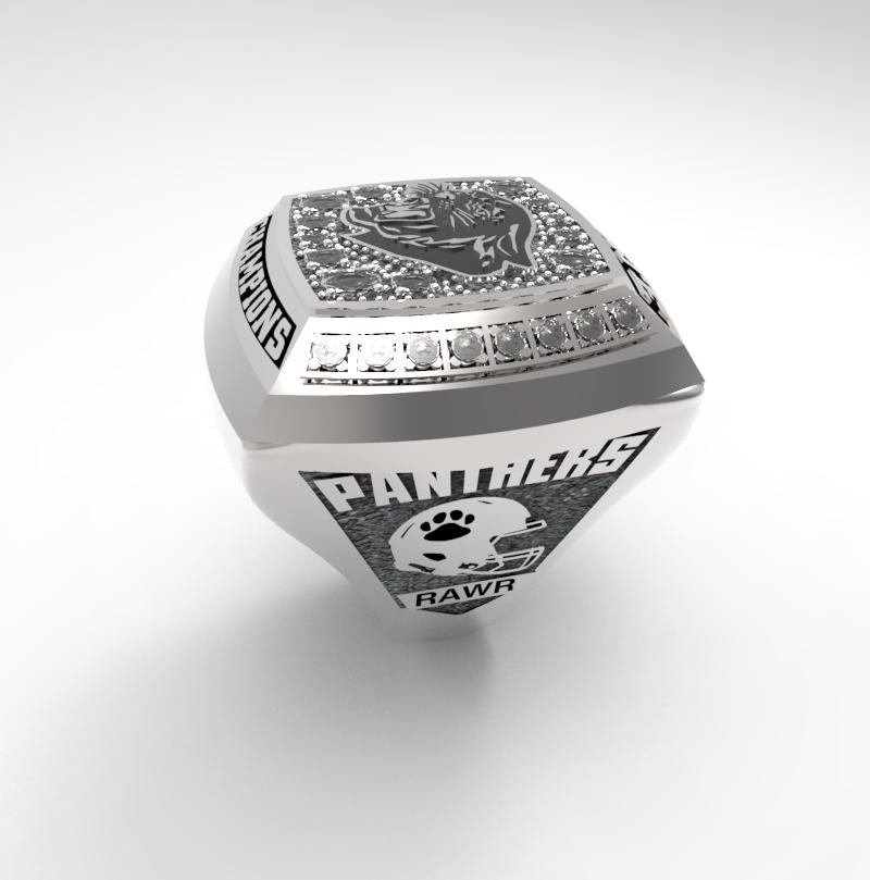 Football Championship Ring Concept