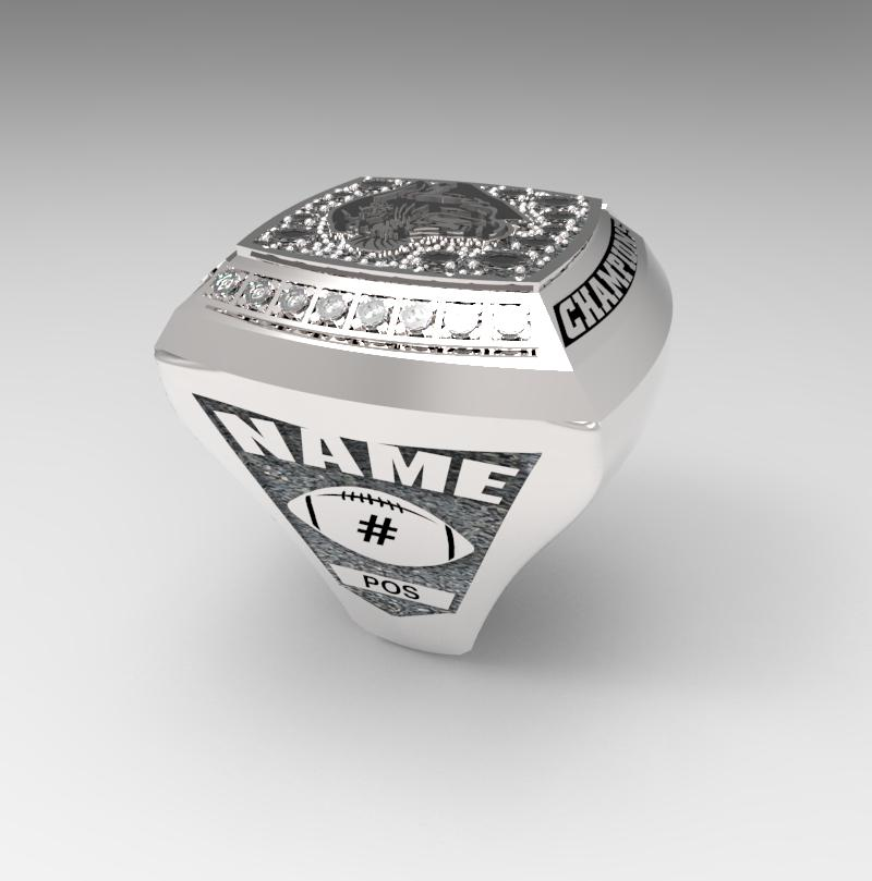 Football State Champs Ring