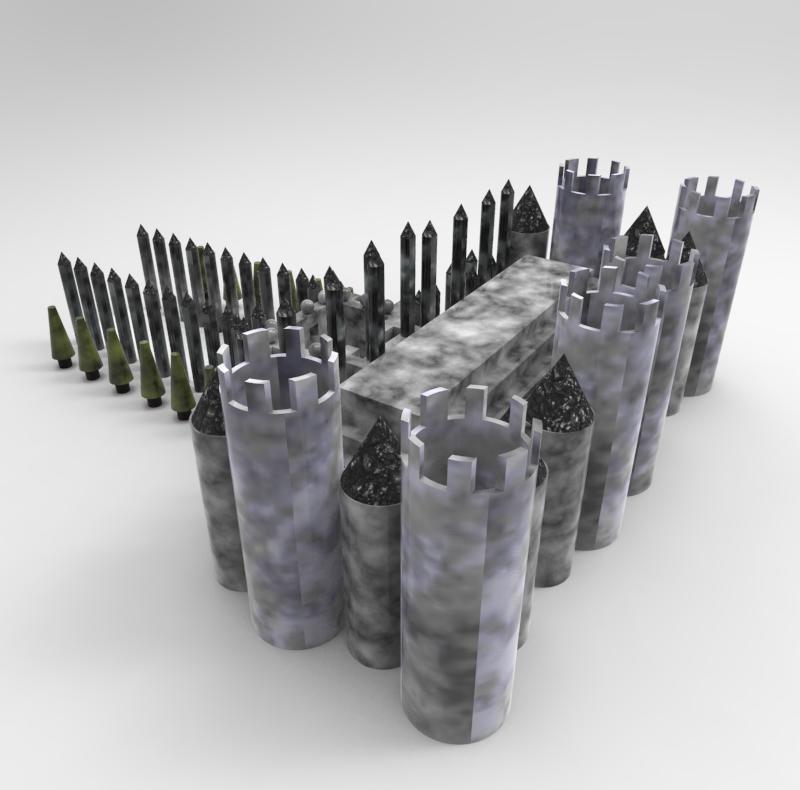 Castle Rendering