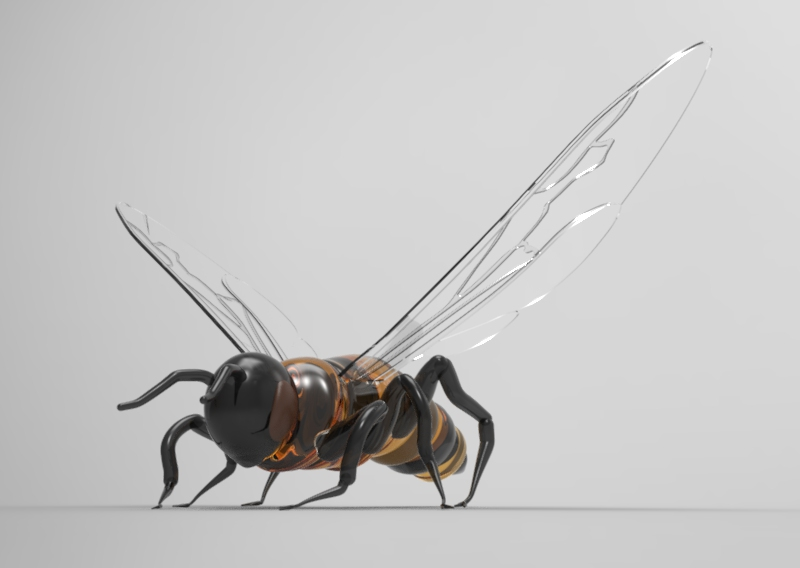 Queen Bee Rendering