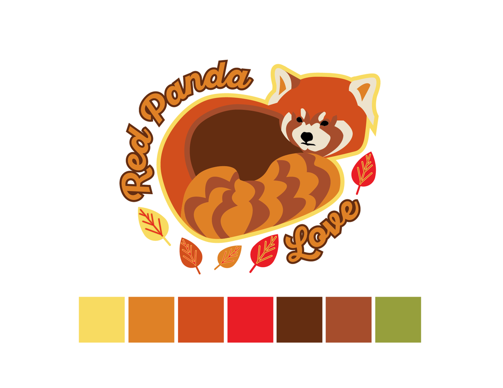 Red Panda Color Palette