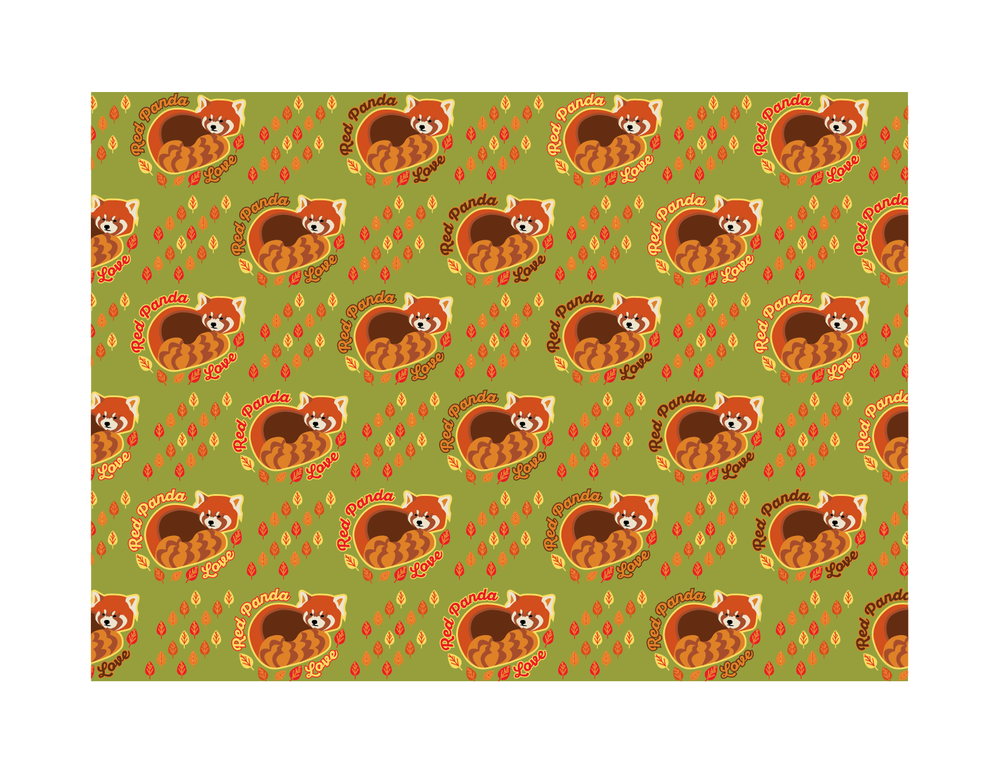 Red Panda Pattern