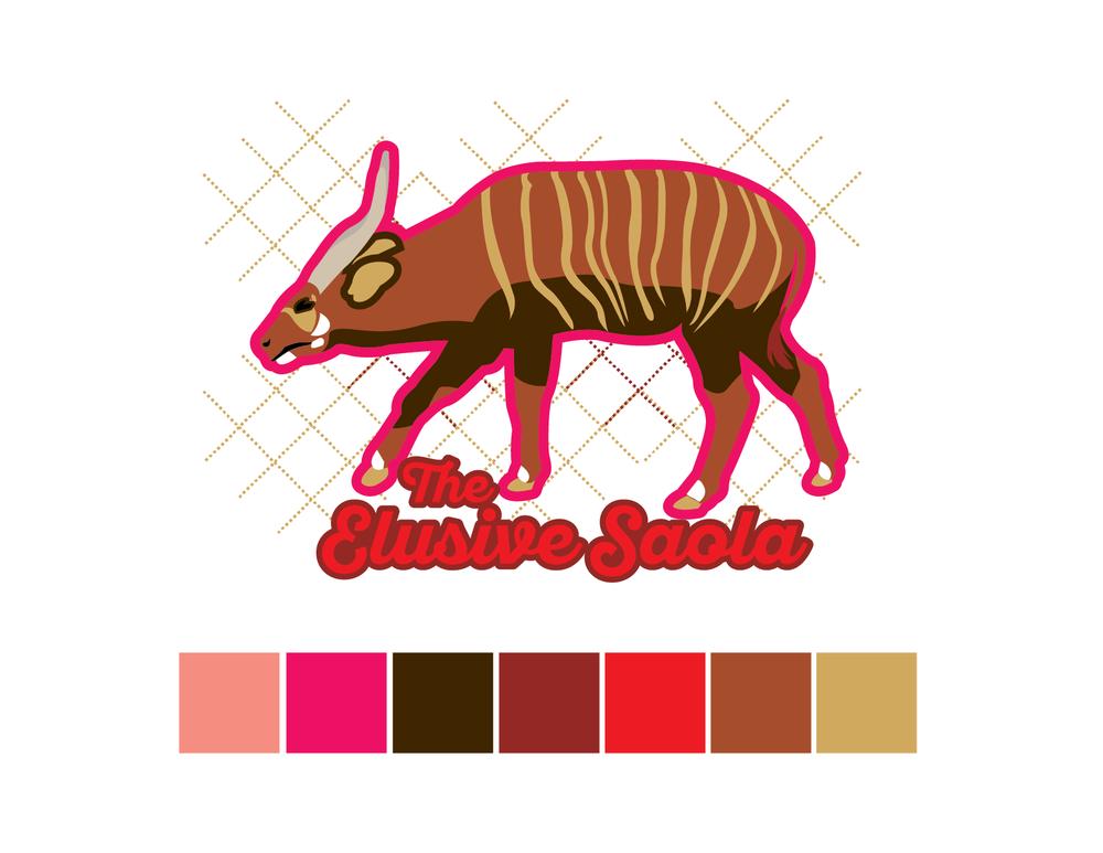 Saola Color Palette