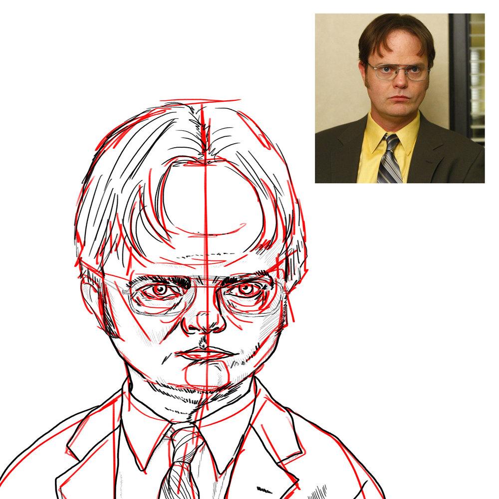 Dwight Schrute Work In Progress