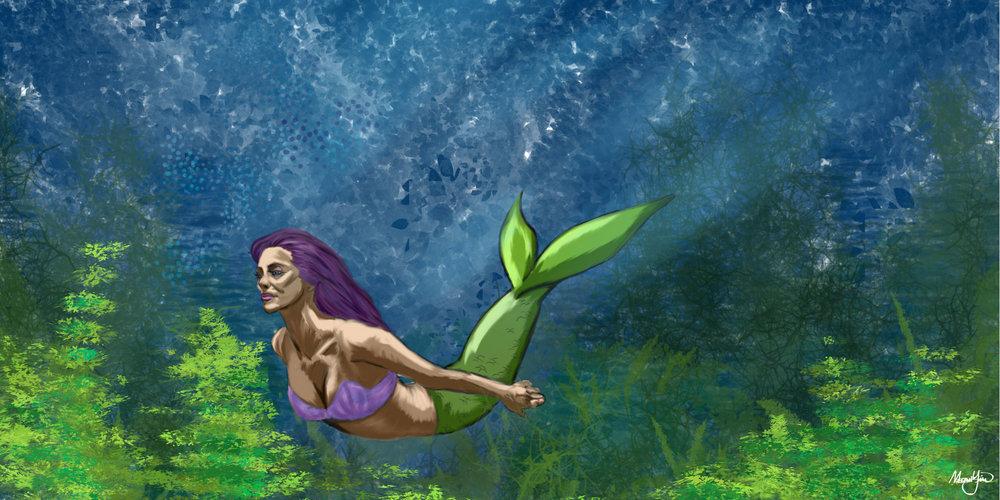 Mermaid Digital Painting
